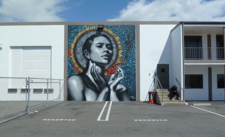 RVCA Headquarters, Costa Mesa, by El Mac and Retna