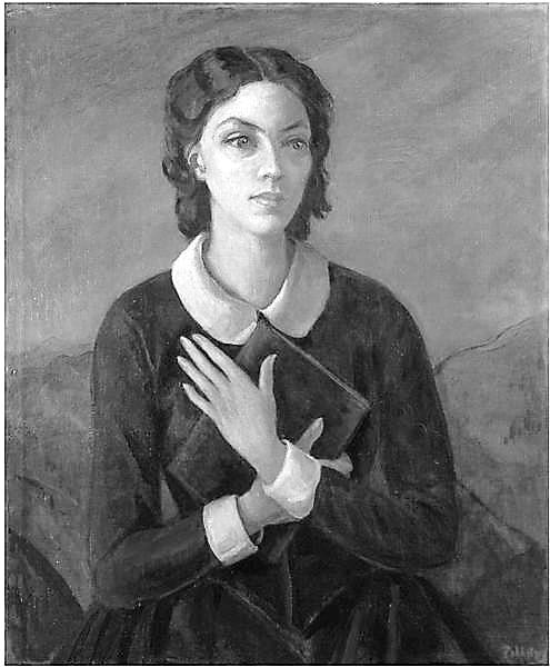 Dorothy Black as Emily Bronte by Hedwig Esther Pillitz